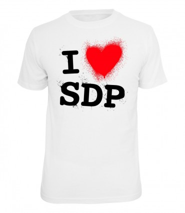 SDP T-Shirt I love SDP