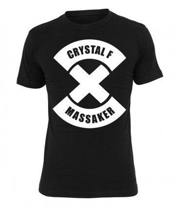 Ruffiction Crystal F T-Shirt Massaker