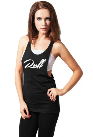 Ruffiction Ladies Loose Tank Ruff schwarz