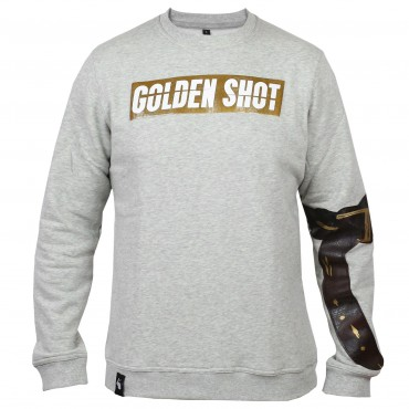 Golden Shot Sweater grau