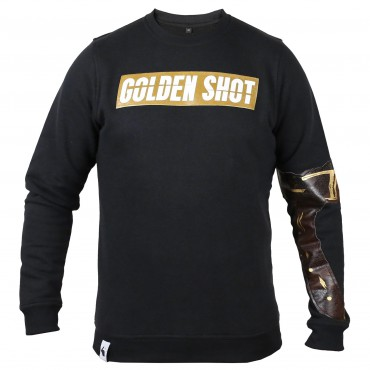 Golden Shot Sweater schwarz