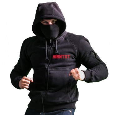 Hirntot Records Ninja Zip Hoody