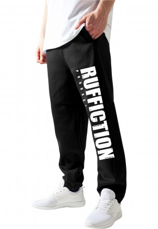 Ruffiction Jogginghose Logo schwarz