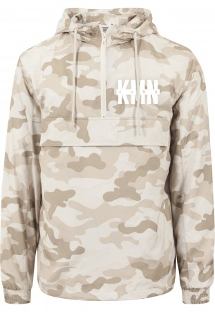 KMN Gang Windbreaker sand camo
