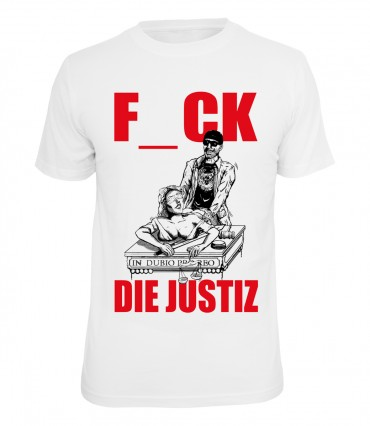 Hirntot Records T-Shirt Justiz